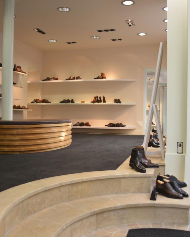 Vue intérieur du magasin OSCAR